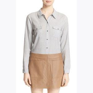 JOIE Soft Long Sleeve 'Wynda' Print Shirt sz S